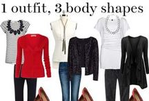 // flatter your body // / Dress your beautiful body to fit and flatter. Here's how.  http://www.franticbutfabulous.com/flattering-your-shape/ / by Heidi // Frantic But Fabulous