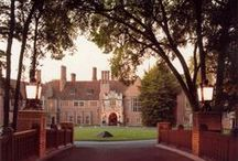 Architecture / In 2012, Meadow Brook Hall was honored as a National Historic Landmark for being the finest example of American Tudor Revival Architecture.