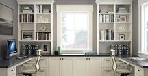 Home Office Inspiration / Ideas and inspiration for updates to the home office (ours is also a sitting area/guest room)