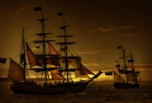 pirates and ships / by Elizabeth Andrews