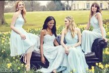 Our Bridesmaids Dresses / A small selection of the gowns we have in store