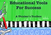 Educational Tools For Success / Educational Tools that will help teachers and parents teach our children. To receive an invite to pin, stop by my store on TPT and message me with your Pinterest email. https://www.teacherspayteachers.com/Store/A-Thinkers-Toolbox