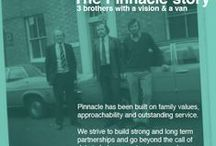 3 Brothers with a vision and a van / Family values have always been at the heart of Pinnacle and were the driving force behind the 3 Burrell brothers, creating something really special from a shared idea over dinner one night. Over 40 years on the same pioneering spirit and values run through everything we do.