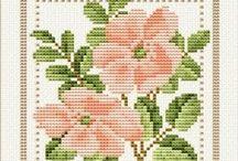 Cross Stitch-Flowers / Flowers / by wafaa ali