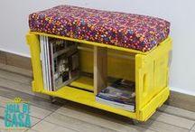 Joias da casa / Projetos de reuso feitos pelo blog Joia de Casa.
