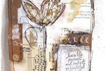 art journaling / inspirational pages