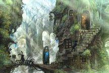 Osady, obozy, samotne domy i wioski