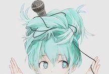 Vocaloid / Miku, Luka, IA, Len, Rin, Gumi <3
