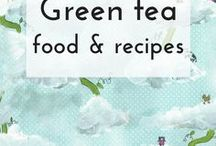 Matcha (green tea) food / A collection of recipes and food ideas with matcha or green tea powder as a star ingredient