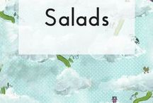 Salads / Salad recipes in all shapes, colours and sizes and for all seasons.