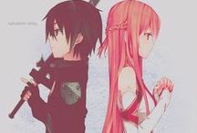 Sword Art Online / That is my favourite anime ;3