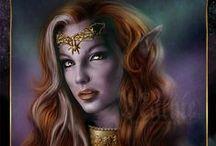Kobiety elfki drowki