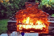 Pergolas and fireplaces / Something I would like to have in my garden