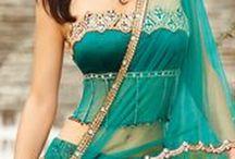 Suknie sari i indyjskie