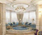 Umeblowane salony i wypoczynek