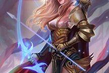 Kobiety elfki łuczniczki