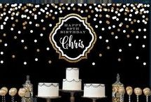 Fiesta 50 Cumpleaños ⭐️ 50 Birthday Party Ideas / Ideas para celebrar una fiesta de 50 cumpleaños. Decora una fiesta de medio siglo por todo lo alto. Cumplir 5 décadas de merece una gran fiesta de celebración! ⭐️ Looking for the best 50th birthday wishes, messages, gifts, supplies or invitations to wish someone a happy birthday? Turning 50 is a milestone worth celebrating, so time to get creative and help make that person feel extra special as they journey over the hill with these decoration tips!