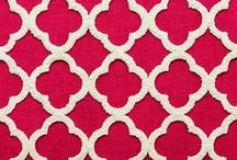 2015 Trend #1:  Geometrics / Geometric fabric designs are currently a very popular trend in home decor, and are used as both upholstery fabrics and drapery fabrics to provide a contemporary flair to a room.