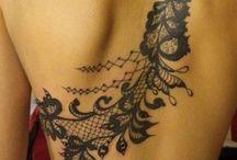 Tattooed.