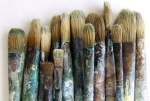 Art studio / Be inspired where you create / by Spice Kitty