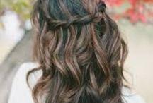 Updo Ideas Grad Prom Bridal / Wedding, Formal, Grad hair / by Libby Kennedy