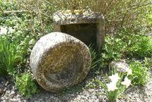 Stone Planters by Campo de' Fiori
