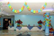 Fiesta Nemo y el Mar / Decoración Fiesta Nemo y el mar www.happy-occasions.com https://www.facebook.com/HappyOccasions