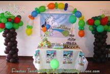 Fiesta Doki Niño / Decoración FIesta Doki Niño www.happy-occasions.com https://www.facebook.com/HappyOccasions