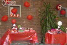 Fiesta Pucca / Decoración Fiesta Pucca www.happy-occasions.com https://www.facebook.com/HappyOccasions