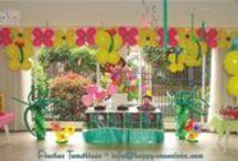 Fiesta Dora y Selva / Decoración Fiesta Dora www.happy-occasions.com https://www.facebook.com/happyoccasionsfiestas?ref=hl