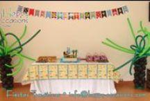 Fiesta Piratas y Mar Niño / Decoración fiesta pirata y mar para niño www.happy-occasions.com https://www.facebook.com/happyoccasionsfiestas?ref=hl
