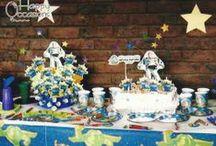Fiesta Buzzlightyear / Decoración Fiesta Buzzlightyear www.happy-occasions.com https://www.facebook.com/happyoccasionsfiestas?ref=hl