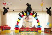 Fiesta Mickey Mouse / Decoración Fiesta Mickey Mouse www.happy-occasions.com https://www.facebook.com/happyoccasionsfiestas