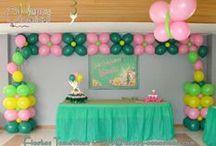 Fiesta Tinkerbell / Decoración fiesta Pucca