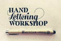 Hand Lettering & Drawings & Art / ~