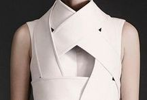 Inspiration: Geometry & Minimalism / Geometric form & function, inspiring our seamlines and details.