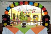 Fiesta Hot Wheels / Decoración Fiesta Hot Wheels www.happy-occasions.com
