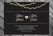 Black Weddings / Bkack concept weddings