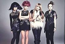 2NE1 / Members CL Minzy Bom Dara