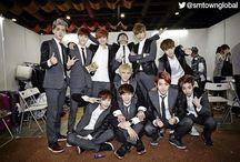 EXO / Members Suho D.O Sehun Baekhyun Chanyeol Kai Tao Lay Xiumin Chen