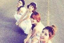 Secret / Members Hana Hyosung Jieun Sunhwa