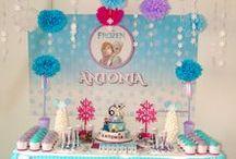 Fiesta Frozen / Decoración Fiesta Frozen www.happy-occasions.com https://www.facebook.com/HappyOccasions