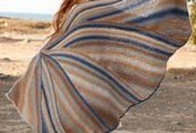 Knit shawles, scarves, wraps...