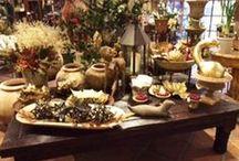 Holiday at Campo de' Fiori / Decorative accessories and floral arrangements