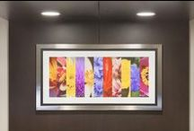 Installations / Installation Photography of our recent projects, framed art, gallery wrapped art, and a collection of architectural solutions.