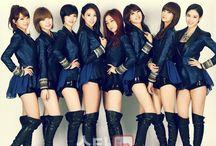 9MUSES / Members Hyuna Euaerin SungA Kyungri Hyemi Minha Keumjo Sojin