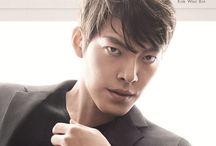 Kim Woo Bin / BirthName - Kim Hyun Joong // StageName - Kim Woo Bin // BirthDate - July 16th 1989 (26) // StarSign - Cancer // Height - 6ft2 // Occupation - Actor & Model