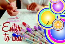 #BeeColorful Sweepstakes / Enter the Gel Bee #BeeColorful Sweepstakes for a chance to win a five-pack of Gel Bee pens. To enter, pin your favorite coloring page to one of your Pinterest boards and make sure to tag @GelBeeCreate and use the hashtag #BeeColorful in the pin description.   Entrants can receive a BONUS ENTRY for following @GelBeeCreate on Pinterest.  Entrants can AUTOMATICALLY RECEIVE a five-pack of Gel Bee pens if they tag five friends in the comments of their pin and all five friends enter the sweepstakes.