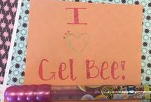 """Gel Bee Nation / Do you have a creative example of how you've used Gel Bee pens to express yourself and make your life more colorful? We'd love to see it and share it with other """"Bee"""" lovers! If you would like to become a part of the Gel Bee Nation and submit your artwork, you can send us as an attachment to buzzMe@gel-bee.com."""