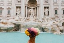 The Pommier ♥'s Rome / In Rome, classical ruins are scattered between Renaissance palazzos and the most beautiful Baroque fountains.